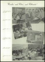1950 Bryan High School Yearbook Page 24 & 25