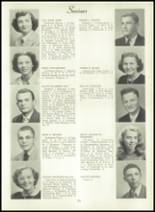 1950 Bryan High School Yearbook Page 28 & 29