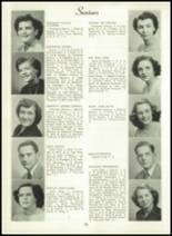 1950 Bryan High School Yearbook Page 30 & 31