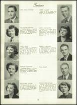 1950 Bryan High School Yearbook Page 32 & 33