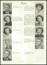 1950 Bryan High School Yearbook Page 34 & 35