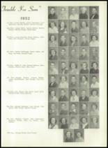 1950 Bryan High School Yearbook Page 38 & 39