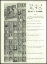 1950 Bryan High School Yearbook Page 42 & 43
