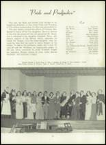 1950 Bryan High School Yearbook Page 54 & 55