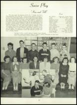 1950 Bryan High School Yearbook Page 56 & 57