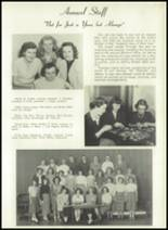 1950 Bryan High School Yearbook Page 58 & 59