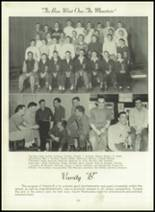 1950 Bryan High School Yearbook Page 68 & 69