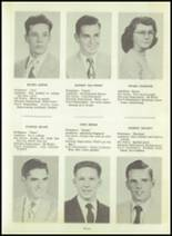 1954 Greensburg High School Yearbook Page 14 & 15