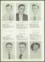 1954 Greensburg High School Yearbook Page 16 & 17