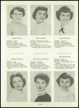 1954 Greensburg High School Yearbook Page 18 & 19