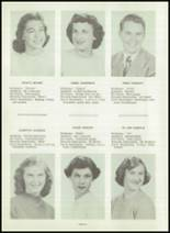 1954 Greensburg High School Yearbook Page 20 & 21
