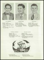 1954 Greensburg High School Yearbook Page 22 & 23