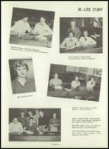 1954 Greensburg High School Yearbook Page 30 & 31