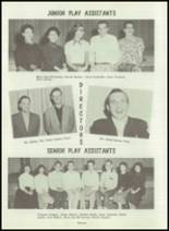1954 Greensburg High School Yearbook Page 34 & 35