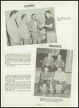 1954 Greensburg High School Yearbook Page 64 & 65