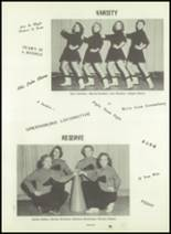 1954 Greensburg High School Yearbook Page 66 & 67