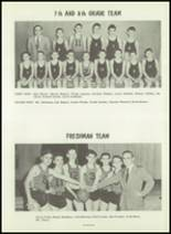 1954 Greensburg High School Yearbook Page 80 & 81