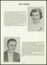 1954 Greensburg High School Yearbook Page 86 & 87