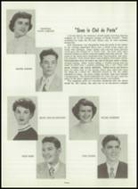 1954 Greensburg High School Yearbook Page 92 & 93