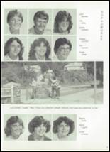 1982 Tygarts Valley High School Yearbook Page 56 & 57