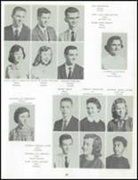 1958 Uniontown High School Yearbook Page 38 & 39
