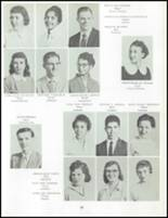 1958 Uniontown High School Yearbook Page 50 & 51