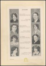1926 Henryetta High School Yearbook Page 26 & 27