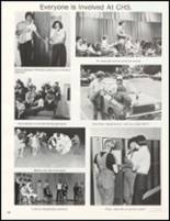 1980 Charleston High School Yearbook Page 110 & 111