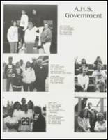 1991 Arlington High School Yearbook Page 20 & 21