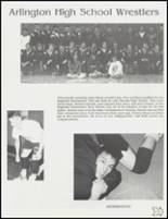 1991 Arlington High School Yearbook Page 126 & 127