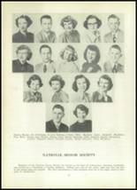 1952 Clay Center High School Yearbook Page 16 & 17