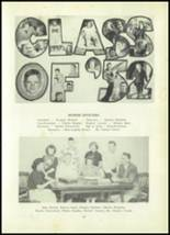 1952 Clay Center High School Yearbook Page 18 & 19