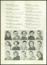 1952 Clay Center High School Yearbook Page 20 & 21