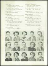 1952 Clay Center High School Yearbook Page 22 & 23