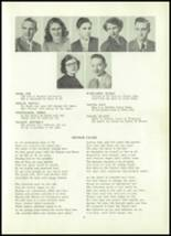 1952 Clay Center High School Yearbook Page 24 & 25