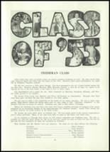 1952 Clay Center High School Yearbook Page 34 & 35