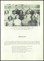1952 Clay Center High School Yearbook Page 42 & 43
