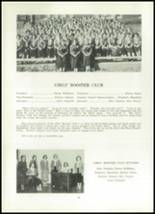 1952 Clay Center High School Yearbook Page 46 & 47