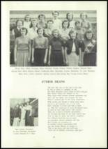 1952 Clay Center High School Yearbook Page 48 & 49