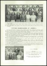 1952 Clay Center High School Yearbook Page 50 & 51