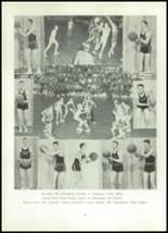 1952 Clay Center High School Yearbook Page 76 & 77