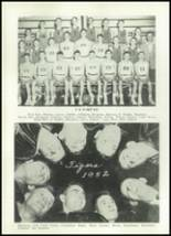 1952 Clay Center High School Yearbook Page 78 & 79