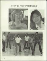 1980 Washington Union High School Yearbook Page 14 & 15