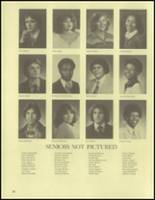 1980 Washington Union High School Yearbook Page 30 & 31