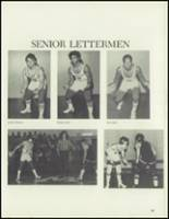 1980 Washington Union High School Yearbook Page 98 & 99