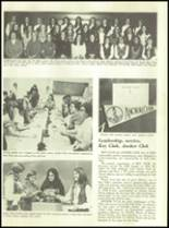 1971 Glendale High School Yearbook Page 86 & 87