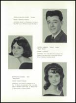 1965 Hancock Central High School Yearbook Page 22 & 23