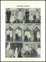 1965 Hancock Central High School Yearbook Page 42 & 43