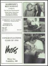 1994 Camden-Rockport High School Yearbook Page 192 & 193