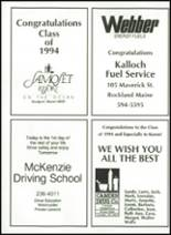 1994 Camden-Rockport High School Yearbook Page 198 & 199